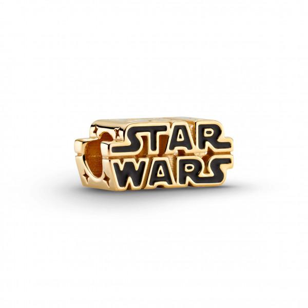 PANDORA Charm Star Wars 3D Logo Gold - 769247C01