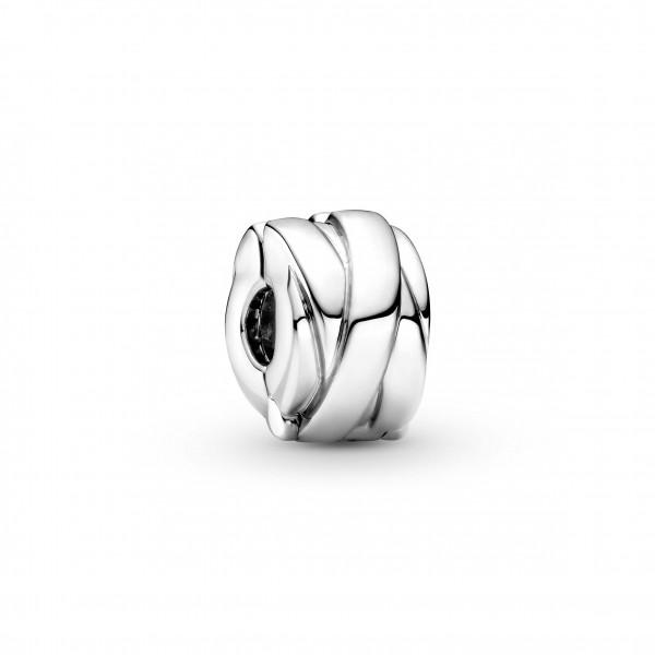 Pandora Clip Charm Glanz Bänder