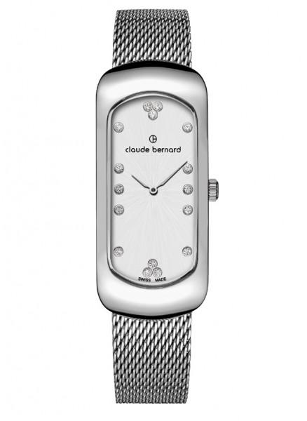 Claude Bernard Damenuhr Chloé Small Silver - 220227-3M-APN