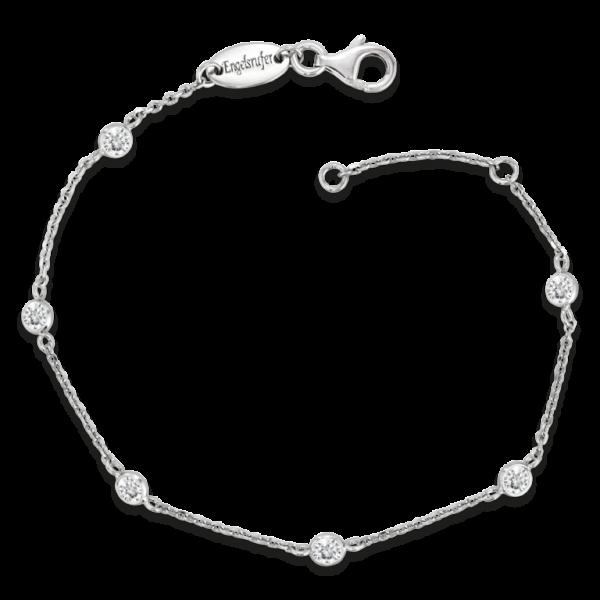 Armband Moonlight Silber mit Zirkonia - ERB-LILMOON-ZI