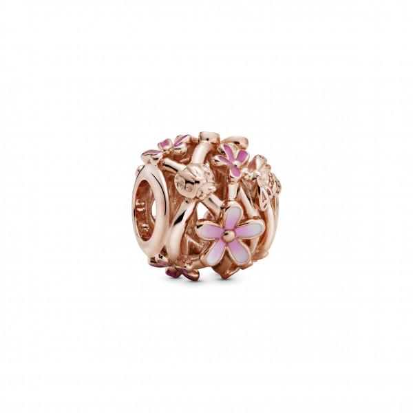 PANDORA Rose Charm Openwork Pink Daisy Flower. - 788772C01