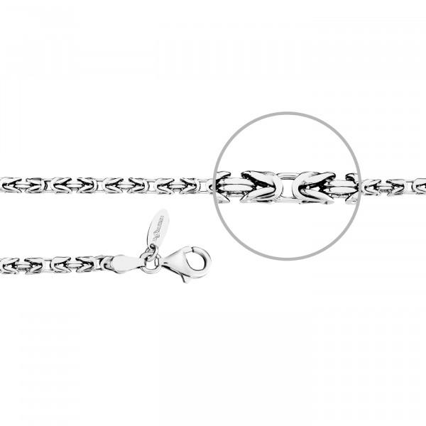 Kettenmacher Königskette Armband 3,0 mm - KOE1