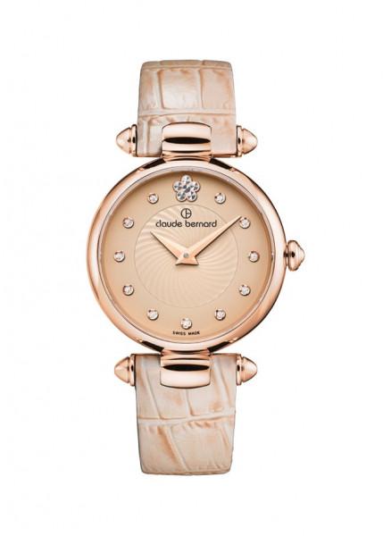 Claude Bernard Dress Code Rose Hellbraun Small Quarz Uhr - 20501-37R-BEIR2
