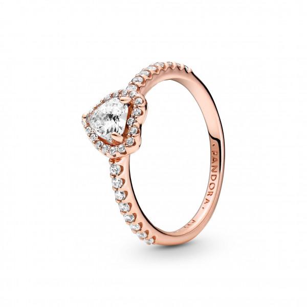 PANDORA Rose Ring Funkelndes Herz - 188421C02
