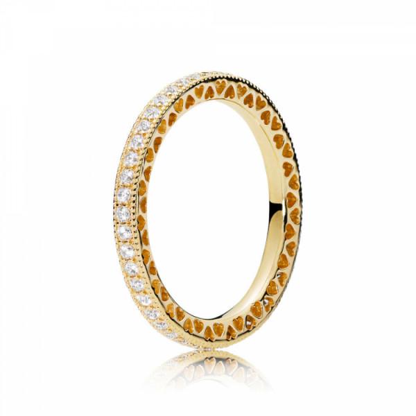 PANDORA Shine Ring Hearts of Pandora - 167076CZ