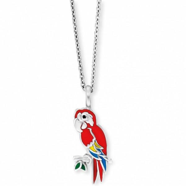 Herzengel Halskette Papagei