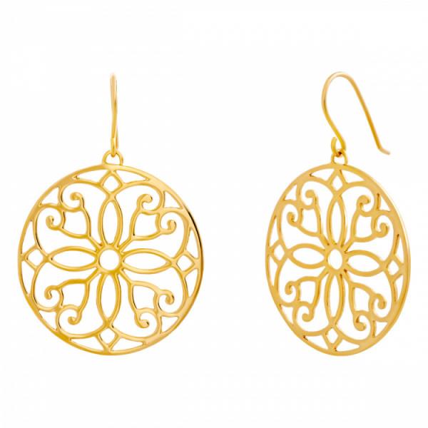Julie Julsen Ohrhänger Ornament Gold