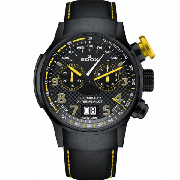 Edox Chronorally X-Treme-Pilot - 38001 TINNJ NJ3