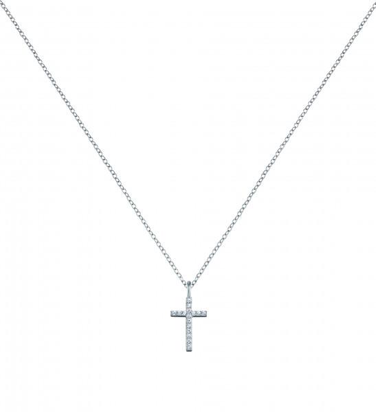 Engelsrufer Halskette Kreuz mit Zirkonia - ERN-LILCROSS-ZI