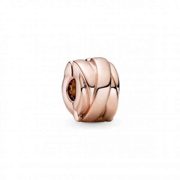 Pandora Rose Clip Charm Glanz Bänder 1