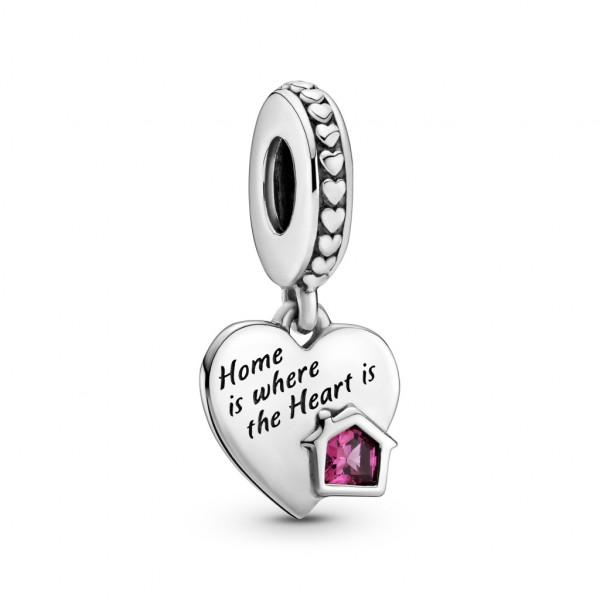 Pandora Charm Anhänger Herzen & Pfotenabdruck. - 799324C01