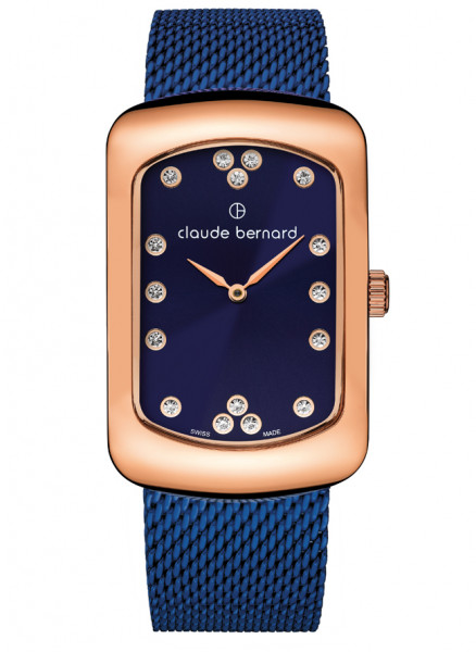 Claude Bernard Damenuhr Dress Code - 20226-37RMBU-BUPR