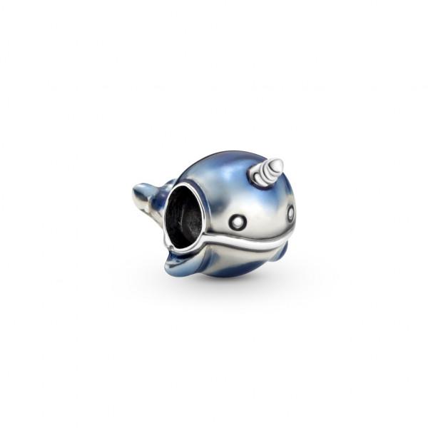 Pandora Charm Schimmernder Narwal - 798965C01