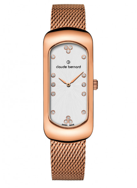 Claude Bernard Damenuhr Dress Code Small Rosé - 20227-37RM-APR