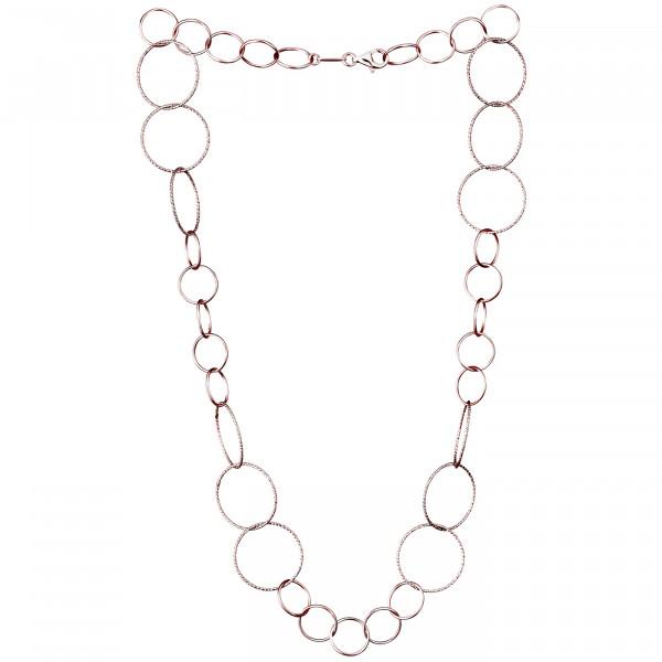 Der Kettenmacher Silberkette Ring 2 Rosé