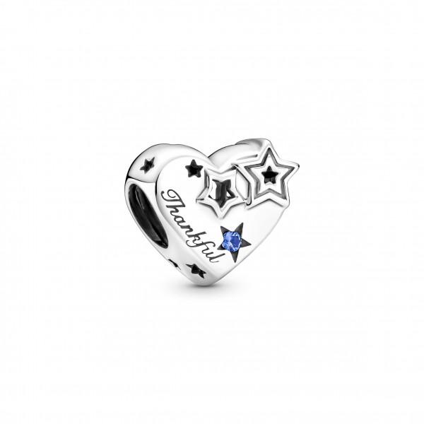 Pandora Charm Dankbar Herz & Sterne 1