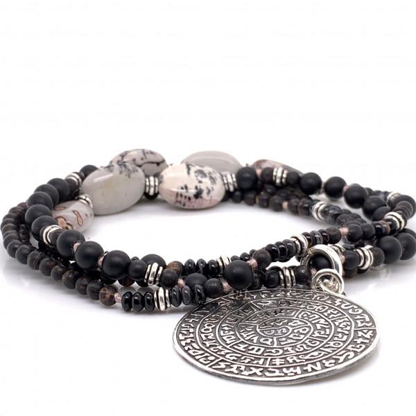 Halskette Brawny Steinkette Amulett