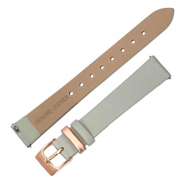 Julie Julsen Armband Uhr Grau Leder Rückseite
