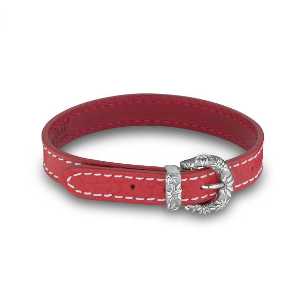 Gexist Edelweiss Leder Armband - B-9009