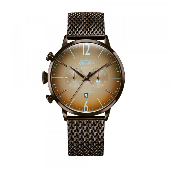 Welder Moody Chocolate Case & Chocolate Mesh Strap - WWRC415