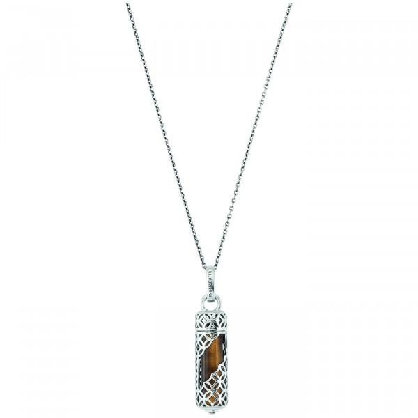 Engelsrufer Halskette Healing Stone Tigerauge - ERN-HEAL-TE-M