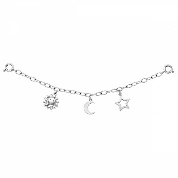 Julie Julsen Charming Sonne-Mond-Sterne Uhrenkette - JJCG25506-1