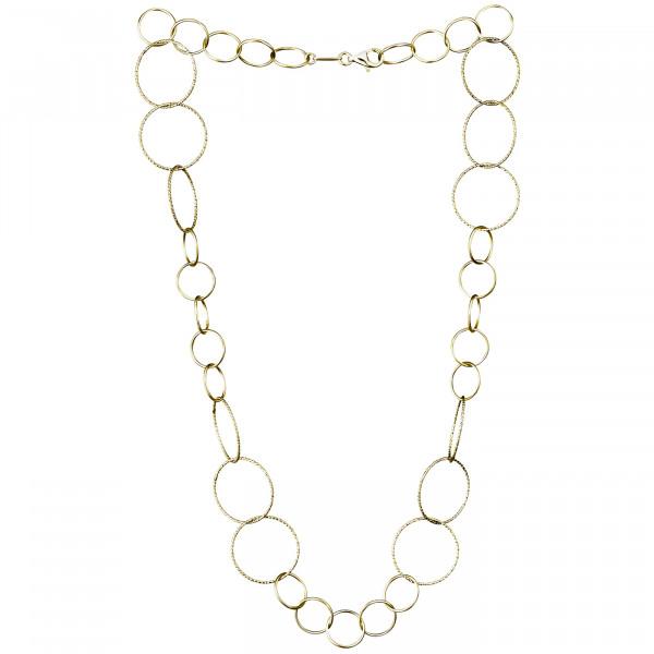 Der Kettenmacher Halskette Ring 2 Rosé - RK1-50G