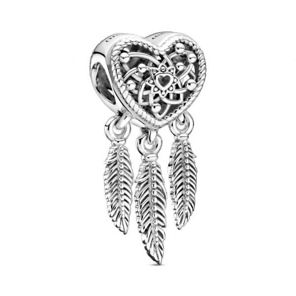 PANDORA Charm Three Feathers Dreamcatcher - 799107C00