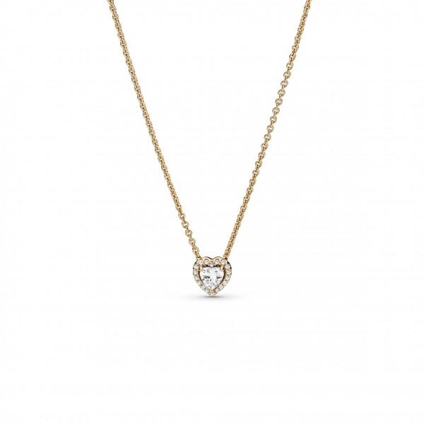 Pandora Gold Halskette Erhabenes Herz - 359520C01-45