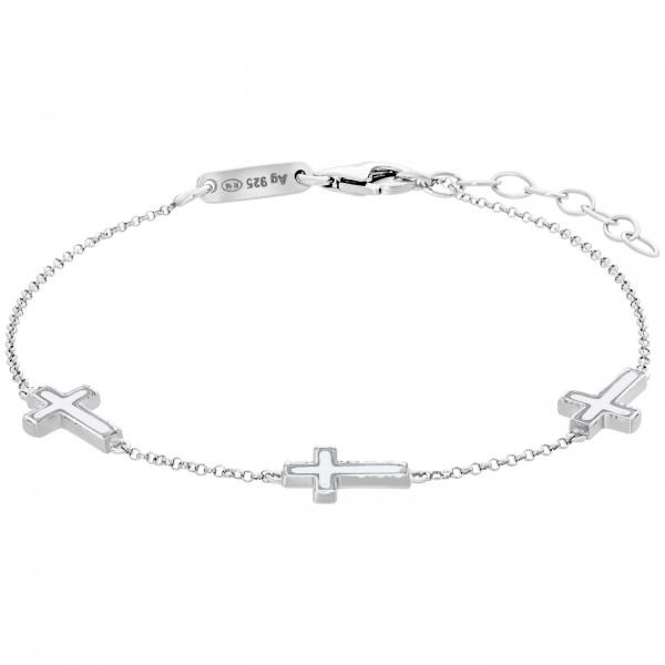 Julie Julsen Armband Kreuz - JJBR0754.1