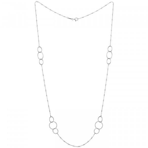 Der Kettenmacher Halskette Ring Silber - FAR1-80S