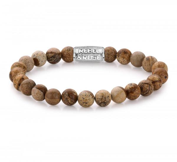 Rebel & Rose Armband Stones Woodstock