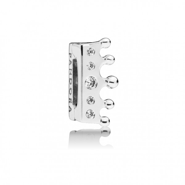 Fixed Clips Charm Crown - 797599CZ