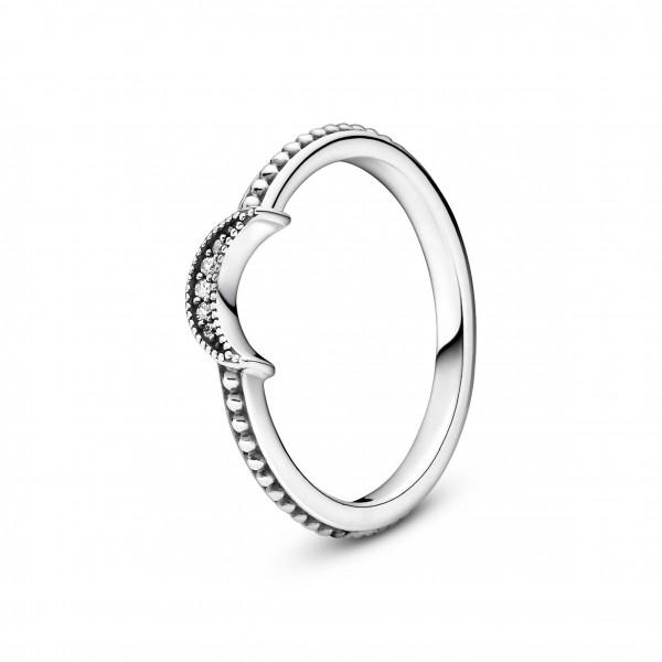 PANDORA Ring Funkelnde Mondsichel - 199156C01
