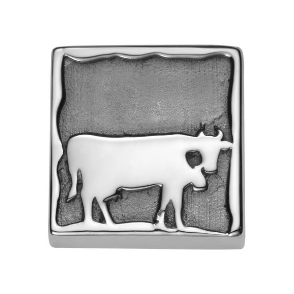 Gexist Swiss Edelweiss Element Kuh Silber - B-9024