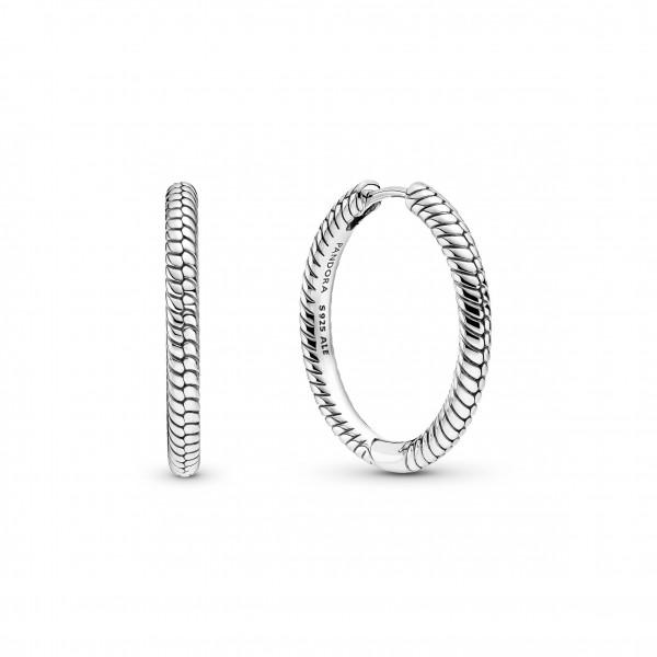 Pandora Creolen Moments für Charms Silber