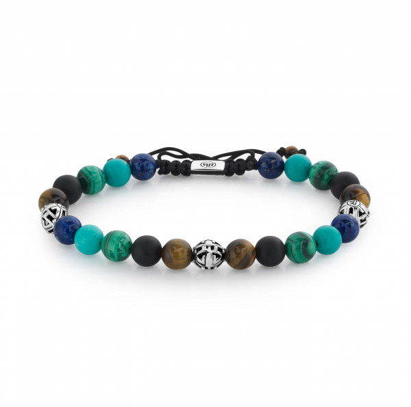 Rebel & Rose Armband Stones and Silver Mix Holiday Vibes