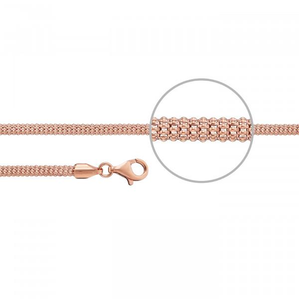 Kettenmacher Koreaner-Armband Tondo Rosé - COR1-19R