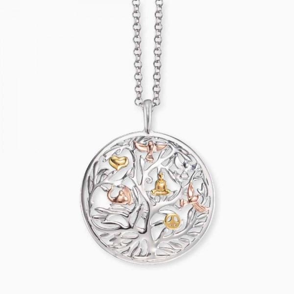 Engelsrufer Halskette Lebensbaum - ERN-Tree-Trico