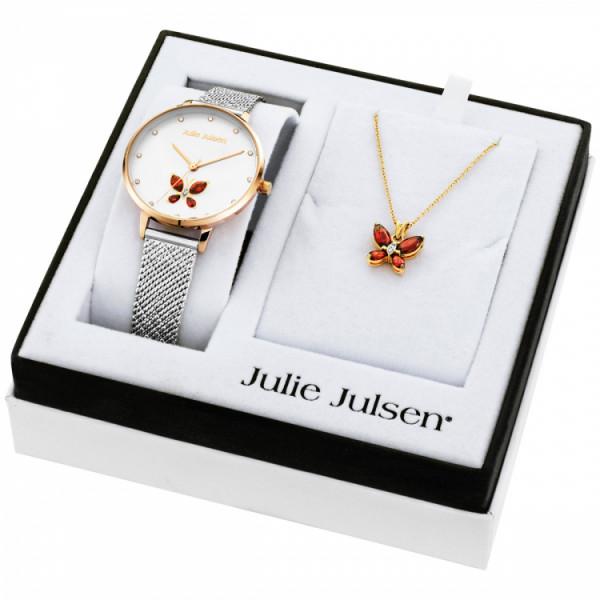 Julie Julsen Damenuhr Butterfly Set - JJW1187RGSME-SET
