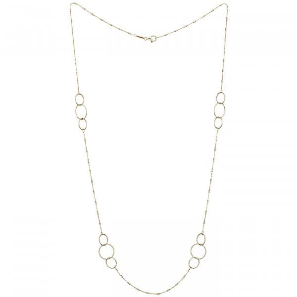 Der Kettenmacher Halskette Ring - FAR1-80G