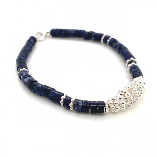 Armband Above Nachtblau Stein Dumortierit