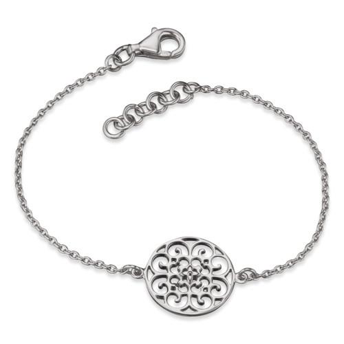 Engelsrufer, Ornament Armband Silber, 16+ 2cm