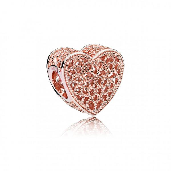 PANDORA Rose Charm Ewige Liebe Rosé - 781811