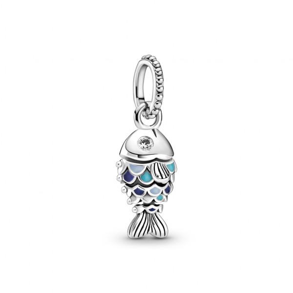 Pandora Charm Anhänger Blauer Schuppenfisch - 799428C01