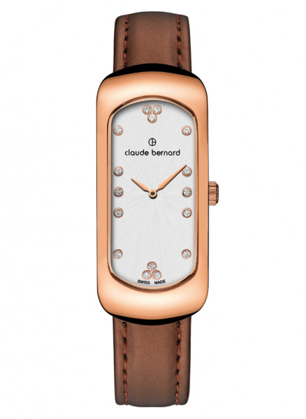 Claude Bernard Damenuhr Dress Code Small Rosé - 20227-37R-APR