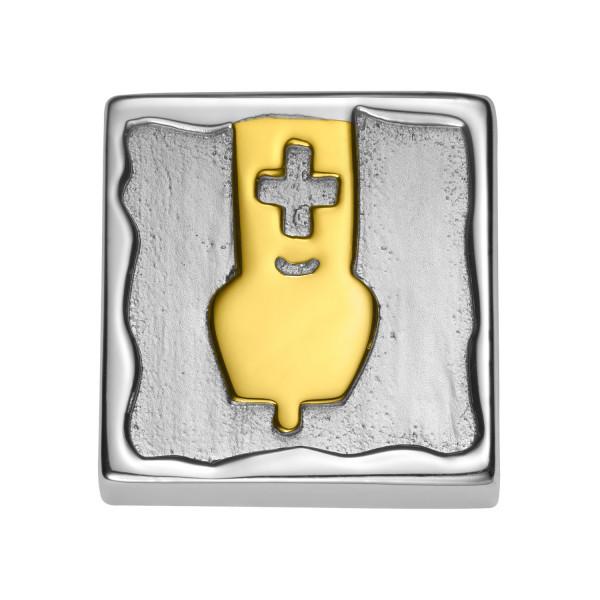 Gexist Swiss Edelweiss Armband Element Glocke - BG-9022