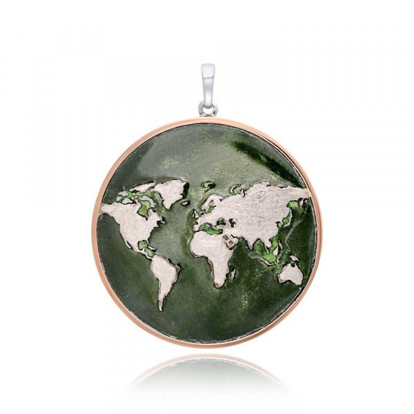 Julie Julsen Anhänger World Emerald - JJPE606.2GR