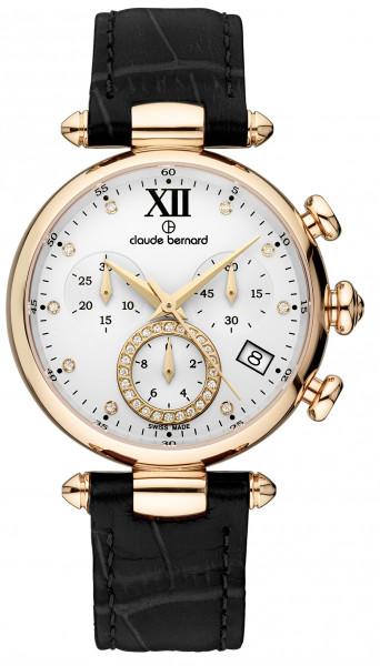 Claude Bernard Dress Code Lady Quartz Chronograph - 10215-37R-APR1