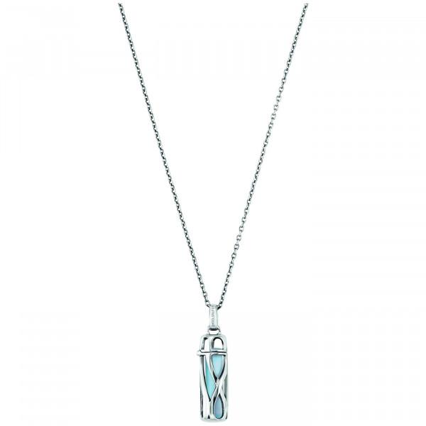 Engelsrufer Halskette Healing Stone Blauer Achat S
